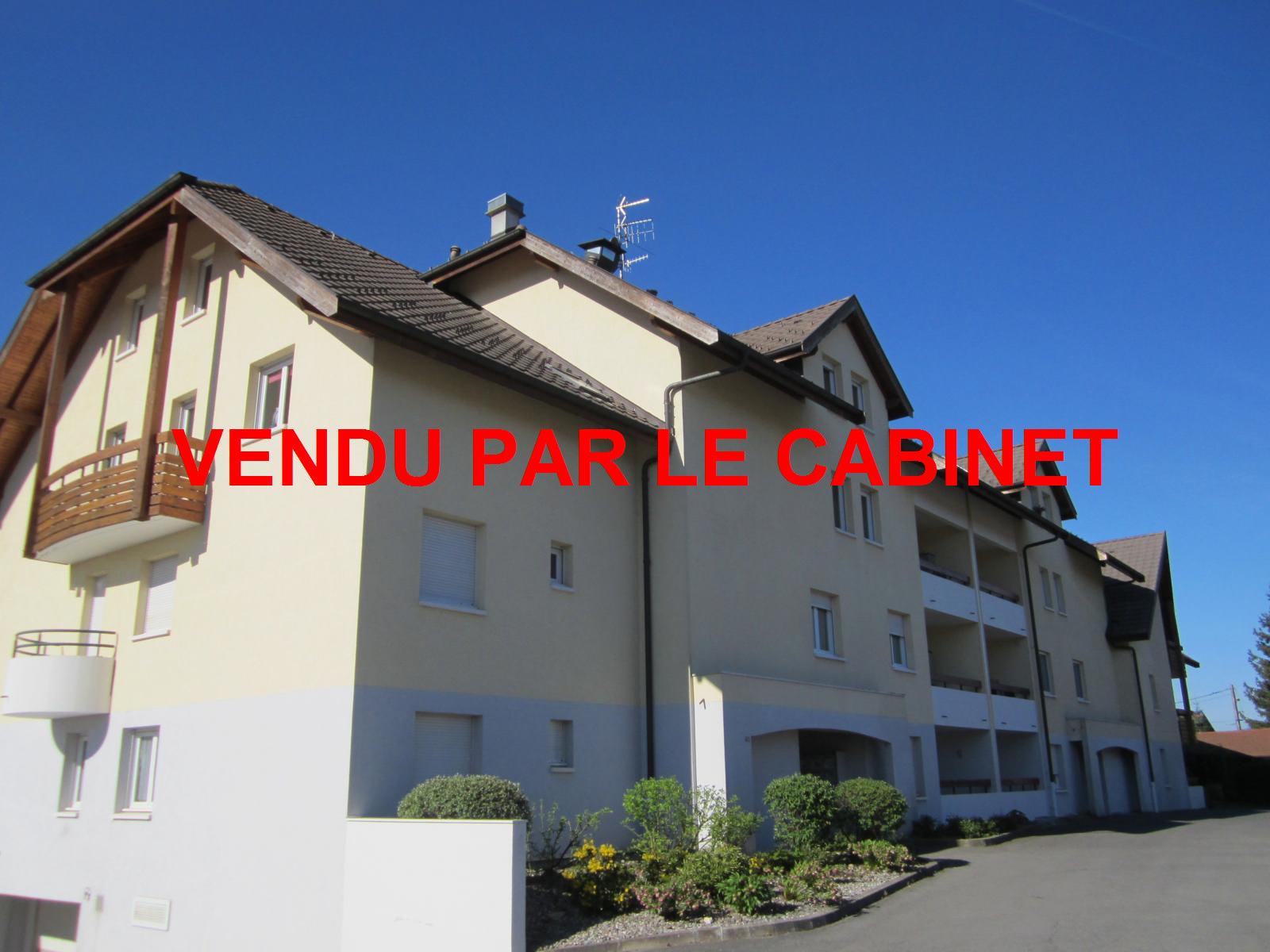 EXCLUSIVITE Feigères Appartement T4 dernier étage dans petite résidence... VENDU PAR LE CABINET