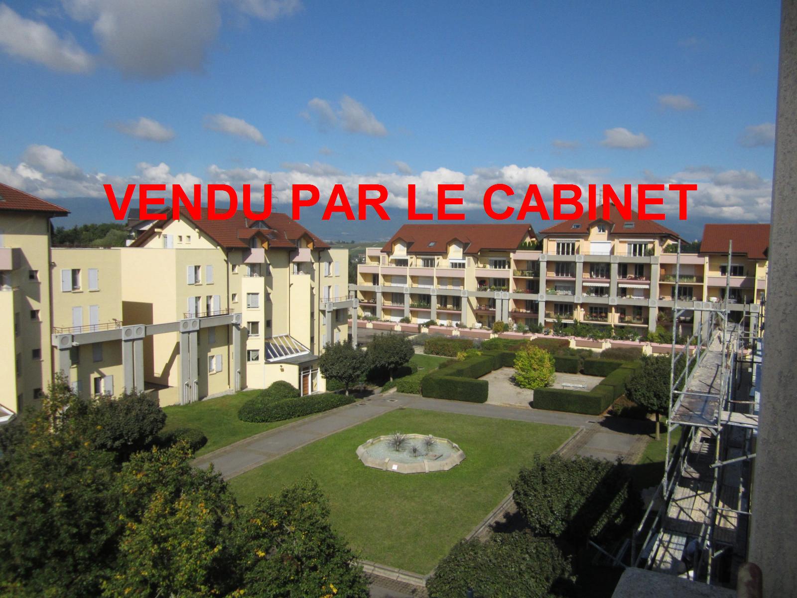 EXCLUSIVITE St Julien-en-Genevois résidence Cyclades II, appartement T4 duplex  en dernier étage avec terrasse de 50 m²...  VENDU PAR LE CABINET