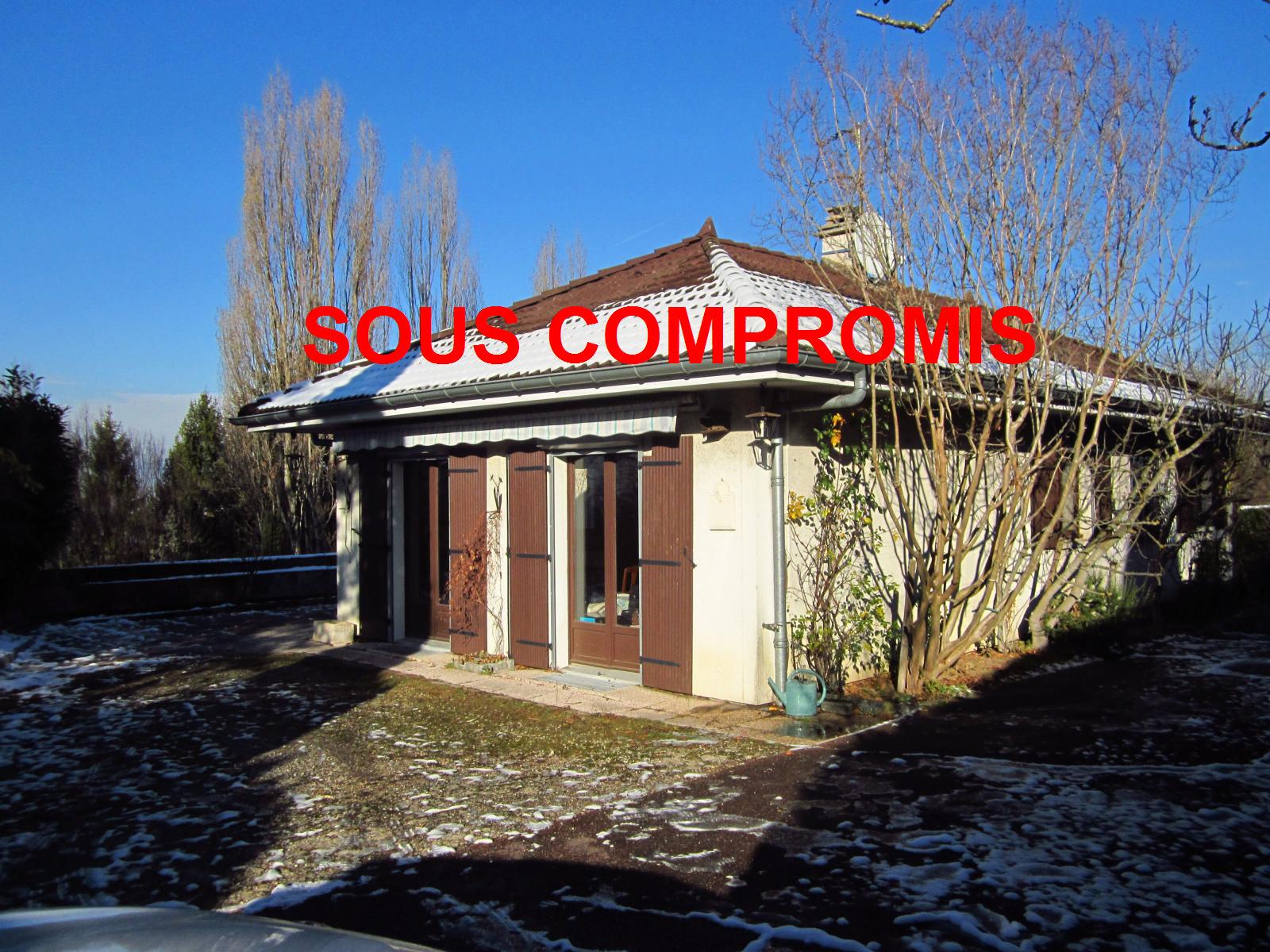 EXCLUSIVITE Collonges-sous Salève agréable Maison individuelle de plain-pied avec vue dégagée... SOUS COMPROMIS