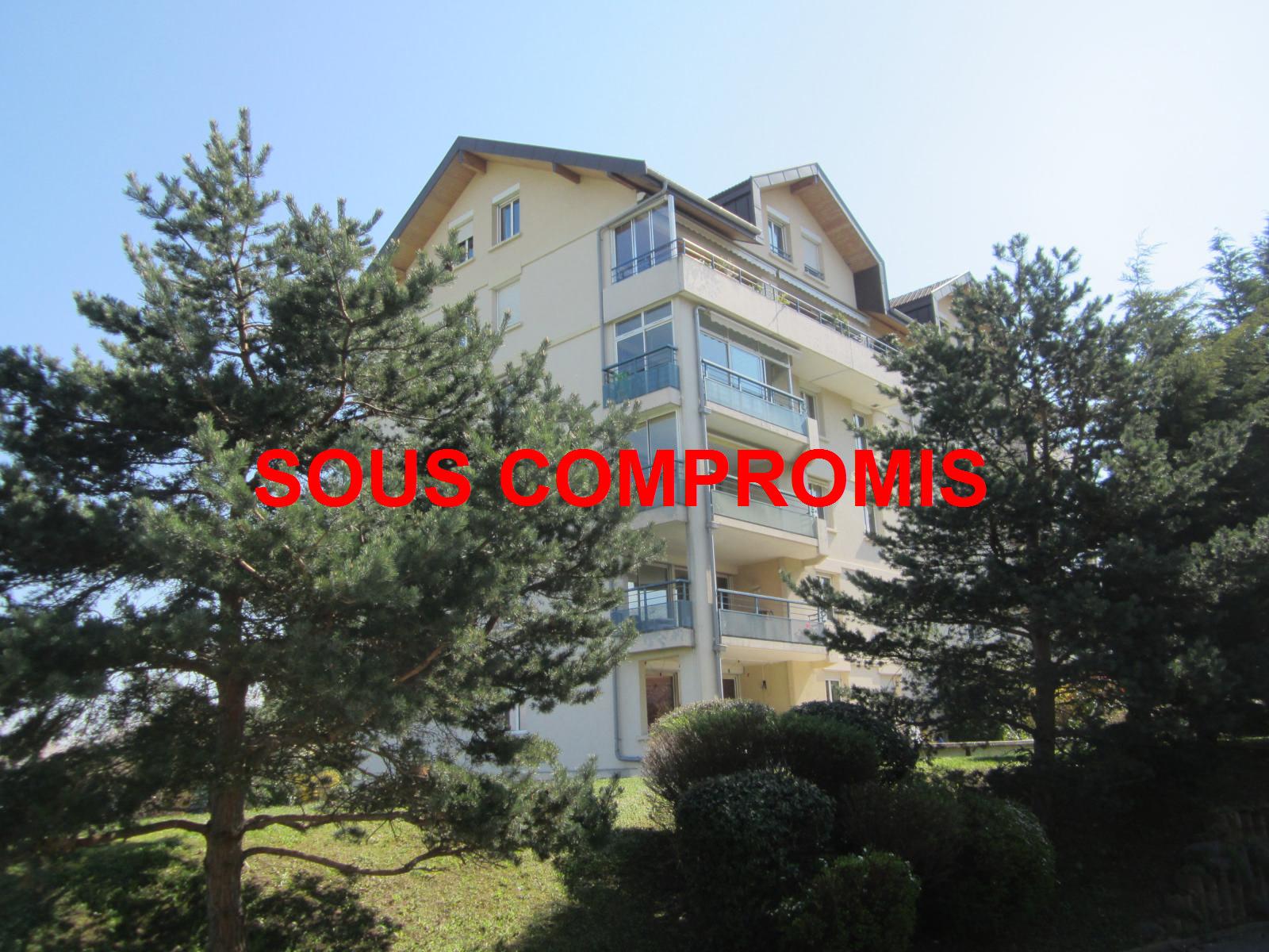 EXCLUSIVITE St Julien-en-Genevois vaste T4 de 125 m² en étage dans résidence de standing: Les Cyclades III SOUS COMPROMIS
