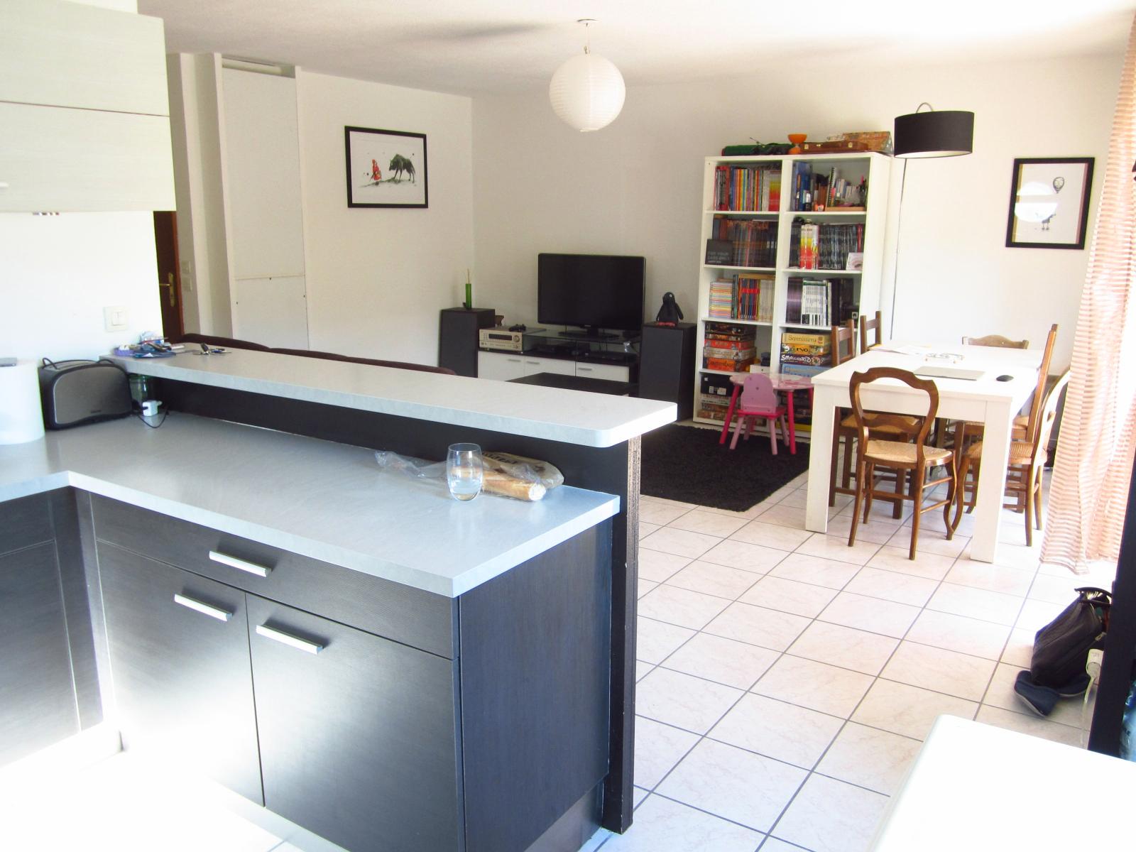 EXCLUSIVITE Vulbens Appartement T3 de 69 m² avec magnifique terrasse de 34 m²...