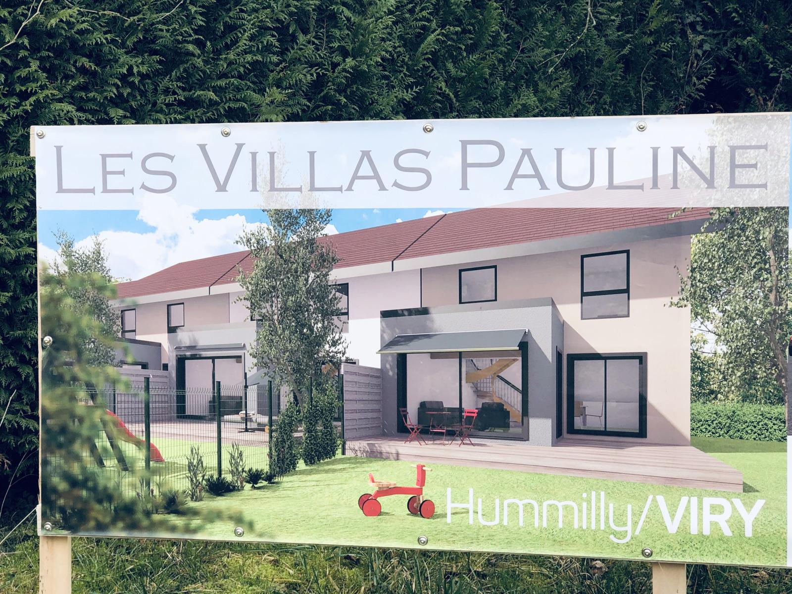 VIRY Maison mitoyenne d'un côté, dans petit hameau pied de douane ( Le Paradis sur terre )...