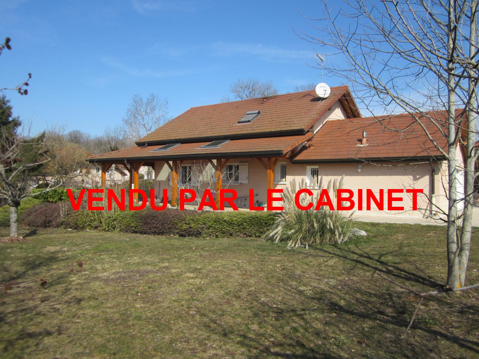 EXCLUSIVITE 5 min de Viry Maison de 2002 sur belle parcelle de 1800 m²... VENDU PAR LE CABINET